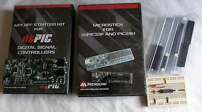 Microchip PIC Development Kits and spare PICs (dsPIC MPLAB)