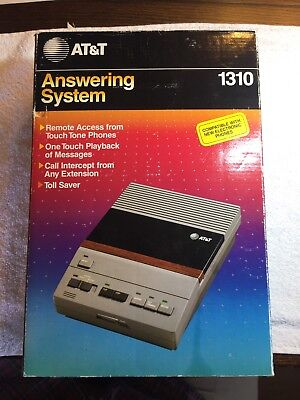 AT&T Answering System  Machine 1310 New