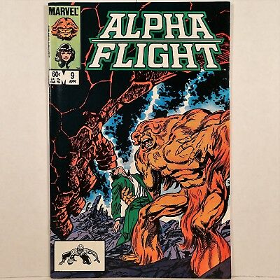 Alpha Flight - Vol. 1, No. 9 - Marvel Comics Group - April 1984 - No Reserve!