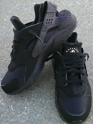 low priced c50fe 11d87 Nike Air Huarache Run, Running Shoes, Black, Men s Size 10, AWESOME SHAPE