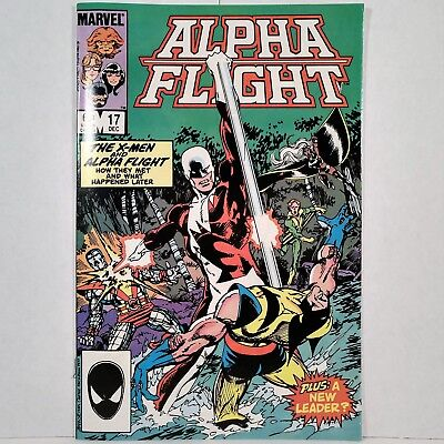 Alpha Flight - Vol. 1, No. 17 - Marvel Comics Group - December 1984 - No Reserve