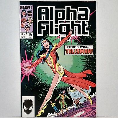Alpha Flight - Vol. 1, No. 19 - Marvel Comics Group - February 1985 - No Reserve