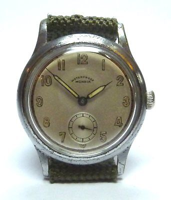Vintage (1940's) Gents Mondia 15 Jewel  Waterproof Wrist Watch (AS 1123)