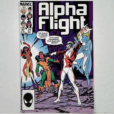 Alpha Flight - Vol. 1, No. 27 - Marvel Comics Group - October 1985 - No Reserve!