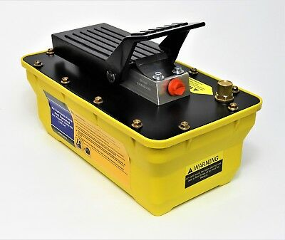 Porta Power Air Over Hydraulic Foot Pump 10000 PSI Rated