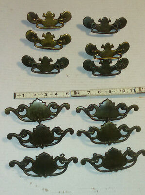 Lot Of 12 Mixed Sets Of Vintage  Dresser Pull Handles Draw Pulls