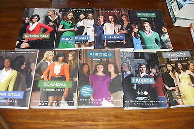 Nice lot of A PRIVATE NOVEL series by KATE BRIAN Free shipping Canada