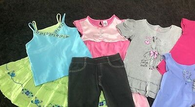 Girls size 6 bulk lot clothes 9 pieces Roxy Pumpkin Patch Target