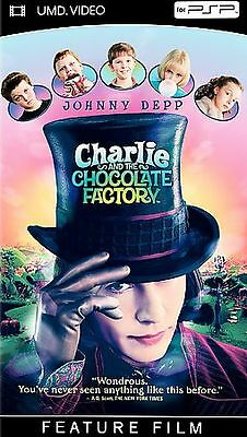 Charlie and the Chocolate Factory (UMD, 2005) - PSP - BRAND NEW - SEALED