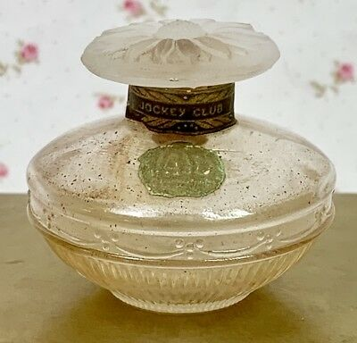 VERY RARE Vintage Late 1800's VAIL Jockey Club Perfume Bottle