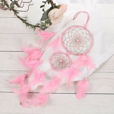 New Handmade Dream Catcher with feather wall or car hanging decoration ornament