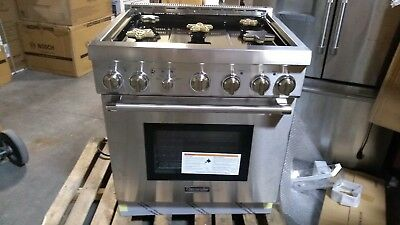 "Thermador 30"" SS Pro Harmony Gas Range PRG305PH"