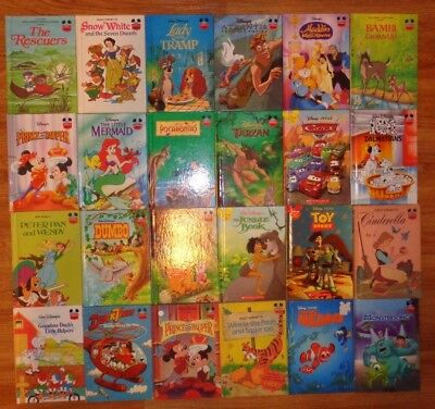 Lot of 10 Disney Children's Picture Books Unsorted Jungle Dumbo Cinderella Nemo