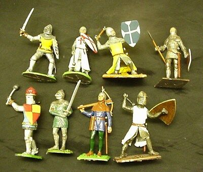 10 Medieval Knights Greenwood & Ball Ltd. Lasset 54mm