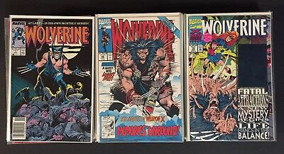 Wolverine #1-100 Run (Marvel, 1988) 80 Comics Lot Missing 20 Books
