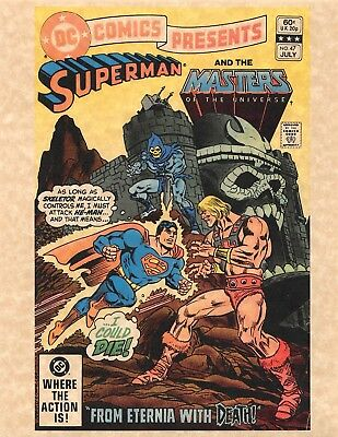 DC Comics Superman And The Masters Of The Universe > He Man > Skeletor > Print
