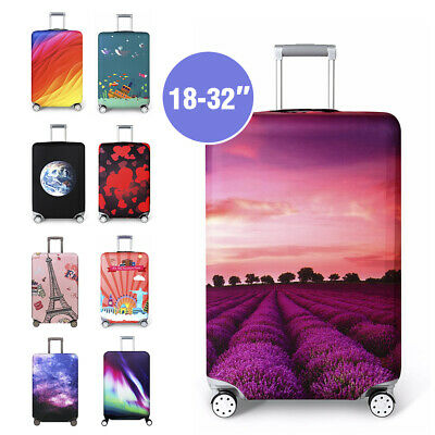 "18-32"" Elastic Luggage Trolley Case Cover Travel Suitcase Protector Dustproof"