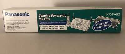 NEW! Genuine PANASONIC KX-FA92 Fax Replacement INK FILM 2 Rolls