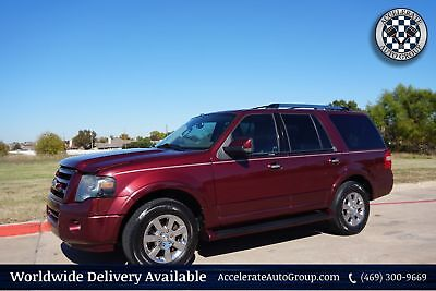 2009 Ford Expedition Limited Leather Clean Carfax Fresh Service NICE! 469-300-9669