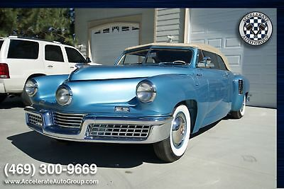 1948 Tucker Convertible Tucker Convertible 1 of 1 Only 10 ORIGINAL MILES 608-658-0550