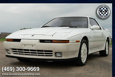 1990 Toyota Supra Supra Turbo ONE OWNER ONLY 59K MILES CLEAN CARFAX! 469-300-9669
