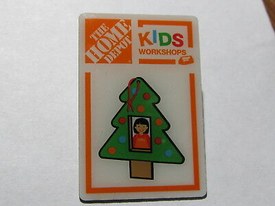 home depot collectibles home depot kids workshop christmas tree lapel pin
