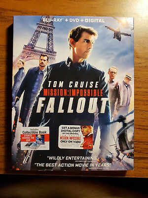 Mission: Impossible - Fallout - Blu-ray/DVD/Digital - Brand new! Tom Cruise!