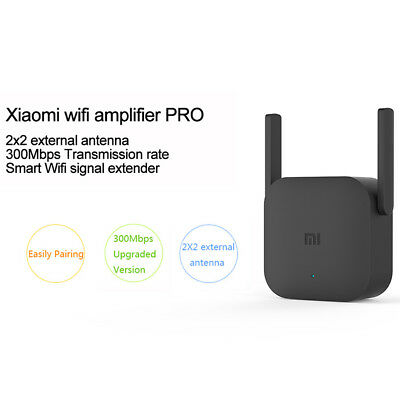 Xiaomi WiFi Amplifier Pro 300Mbps 2 Ports Signal 2.4G Extender Wireless Coverage