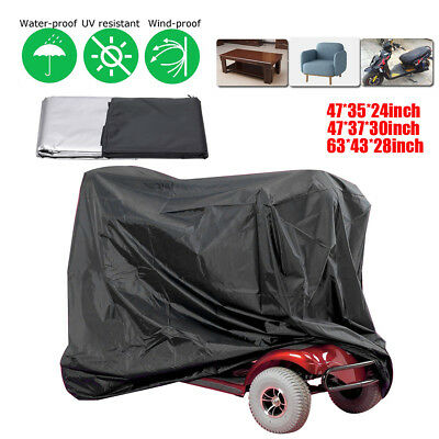 Mobility Scooter Rain Snow/Waterproof Storage Cover Lightweight Dust Protector