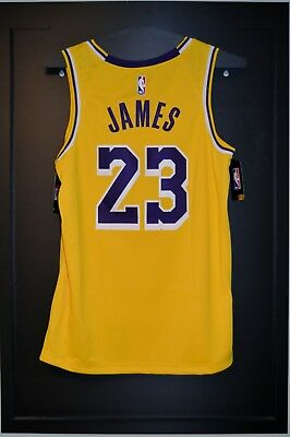 on sale 7b642 fe2af LOS ANGELES LAKERS LeBron James Icon Jersey Mens Large ...