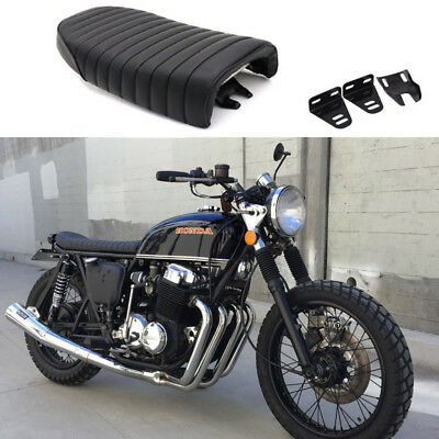 Motorcycle Flat & Hump Cafe Racer Vintage Seat Fit For Honda CM400 CM450 A C E T