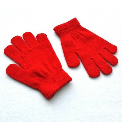 New Children Magic Gloves Girls Boys Kids Stretchy Knitted Winter Warm Glove