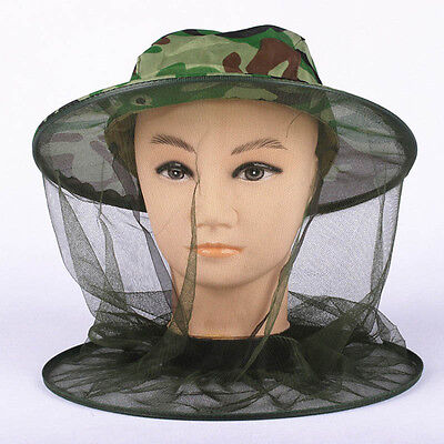 1pcs MOSQUITO MOSI INSECT MIDGE BUG MESH HEAD NET FACE PROTECTOR TRAVEL