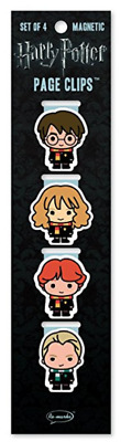 ⚡️NEW Official Harry Potter Professors Magnetic Page Clips Bookmark Set of 4⚡️