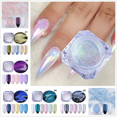 Mermaid Pearl Nail Art Glitter Powder Manicure Dust Chrome Pigment BORN PRETTY