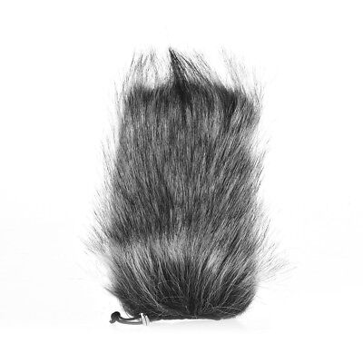 Universal Professional Microphone Furry Windscreen Flexible Mount Fur E7X8