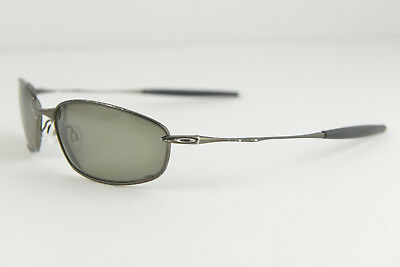 00b6e5484b OAKLEY WHISKER PEWTER   Black Iridium Polarized New 12-849 -  249.00 ...