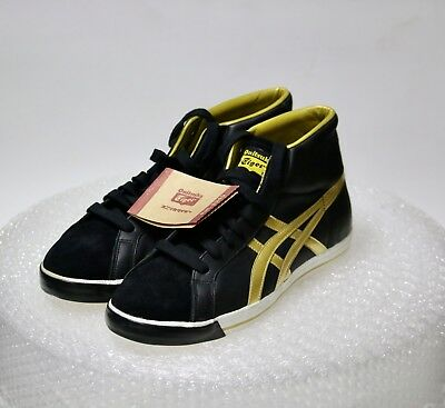 uk availability aab9b 07aad NEW RARE ASICS Onitsuka Tiger Fabre BL-L (black / gold) Size 11.5 VERY  NICE!!