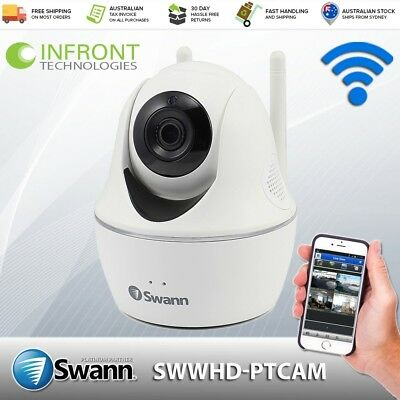 Swann SWWHD-PTCAM 1080p Full Pan Tilt HD Camera with Audio & Control via App