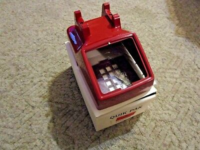 RED !!! Western Electric Bell Systems Rotary Telephone Cover Part NICE NEW !!!!