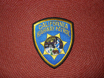 California Highway Patrol Shoulder Patch