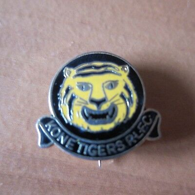 RARE Kone Tigers RLFC Rugby League Football Club Badge