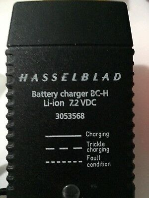 Hasselblad Battery Charger BC-H Li-ion 7.2 VDC 3053568 for H System in box.