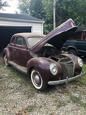 1940 Ford Deluxe  1940 FORD DELUXE BUSINESS COUPE—ORIGINAL—-STORED IN GARAGE SINCE 1973