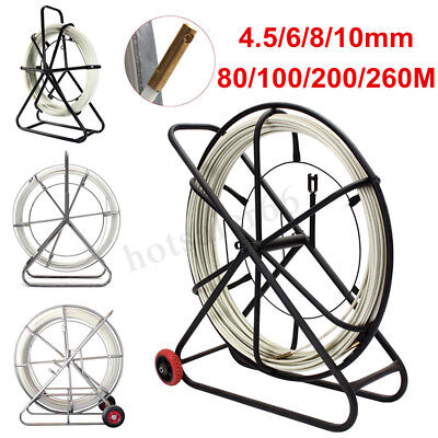 4.5/6/8/10mm Fiberglass Cable Wire Fish Tape Running Rod Duct Rodder Puller