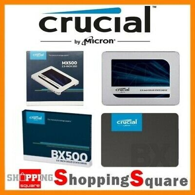 "Crucial MX500 250GB 500GB 1TB 2TB SATA 2.5"" 7mm Internal SSD Solid State Drive"