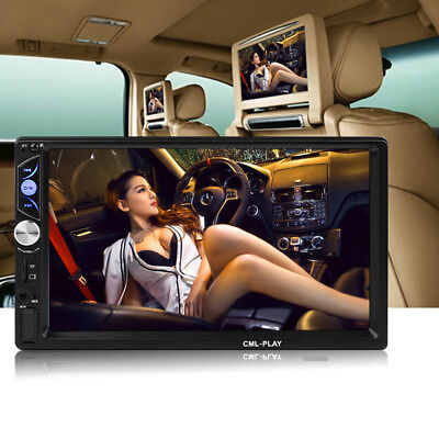 "Universal 7"" 2DIN HD Auto Dashradio Stereo Radio MP5 Player Bluetooth Windows CE"