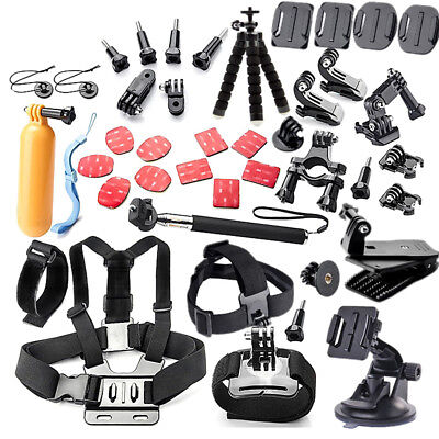 44in1 Sports Camera Accessory Kit for Xiaomi Yi/Yi 4 k SJ4000 SJ5000 SJ6000 J1Y0