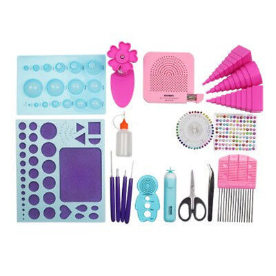 Beginners Paper Quilling Tools Kit 19 Packs DIY Tool Set