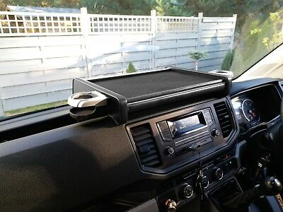 Table MAN TGE VW Crafter from 2018 Velour Black Blau